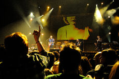 Love of Lesbian band performs at Palau Sant Jordi Stock Photography