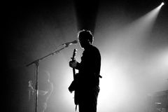 Love of Lesbian (band) performs at Razzmatazz Clubs Royalty Free Stock Image