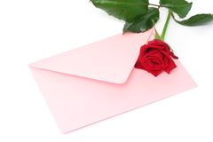 Love letter Stock Image