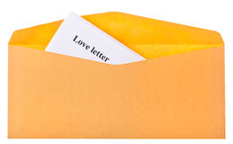 Love letter Royalty Free Stock Images