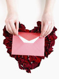 Love letter Stock Images