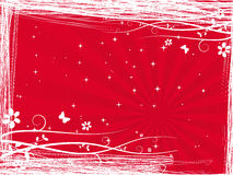Love letter. Red love letter vector illustration Stock Photography