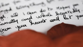 Free Love Letter Stock Photo - 84403490