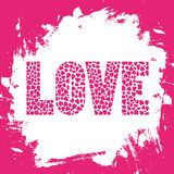 Love letter card3 Stock Image