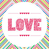 Love letter card5 Stock Images