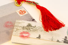 Love letter from China Stock Photo