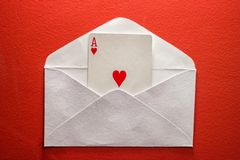 A love letter Royalty Free Stock Photo