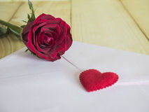 Love letter 2 Stock Photo