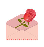 Love letter. Royalty Free Stock Images