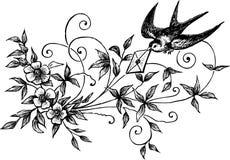 Love letter stock illustration