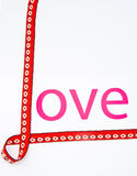 Love letters. stock photos