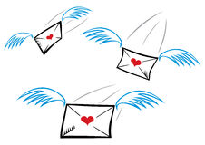 Free Love Letters Stock Photography - 26107842