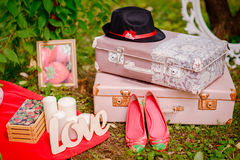 Love letters royalty free stock photos