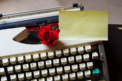 Love Letters Royalty Free Stock Photography