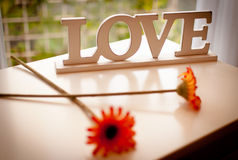 Love letters Stock Images
