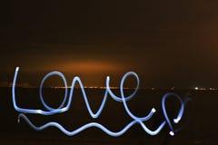 Love light painting Stock Photos