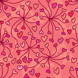 Love line connect seamless pattern Royalty Free Stock Image