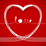Love lines Royalty Free Stock Images