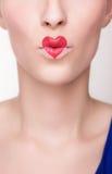 Love lips Stock Photos