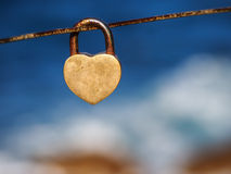 Love&lock 免版税图库摄影