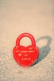 Love lock Stock Photo