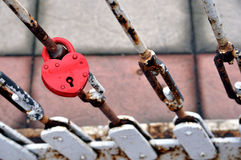 Love lock Stock Image