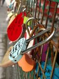 Love lock...lock your life, lock your freedom, if...can lock your heart as well, is the best lock ever in the world i think.. stock photo