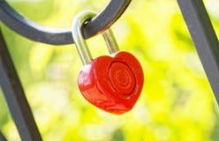 Love Lock Royalty Free Stock Photos