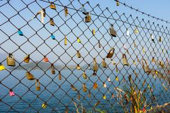 Love lock royalty free stock images