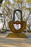 The love lock Royalty Free Stock Image
