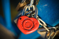 Love lock Royalty Free Stock Photo