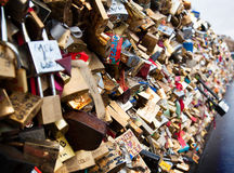Love locks Royalty Free Stock Photography