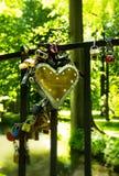 Love locks royalty free stock images