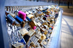 Love- Locks Stock Photos