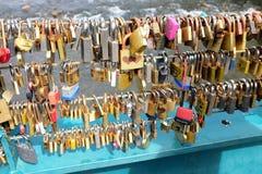 Love Locks. Stock Images