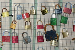 Love Locks / Love Padlocks Royalty Free Stock Image