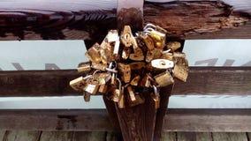 Love locks Royalty Free Stock Image