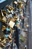 Love locks Royalty Free Stock Photo