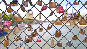 Love locks Royalty Free Stock Photos
