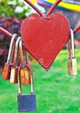 Heart lock Royalty Free Stock Photos