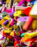 Love Locks of Verona Royalty Free Stock Photo