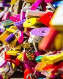 Love Locks of Verona Royalty Free Stock Photo