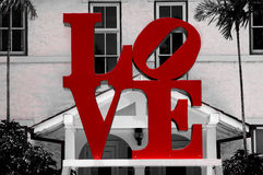 Love logo Royalty Free Stock Photography