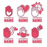 Love logo Stock Photography