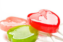 Love Lollipop Stock Images