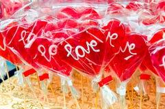Love lolly pops Stock Photo