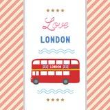 Love London card1 Stock Photography