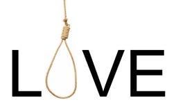 Love - loop. Ironical poster. Joke Stock Photo