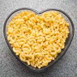 Love Macaroni Stock Image