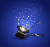 Love Magic Trick. Love Magic Trick sample background Stock Image